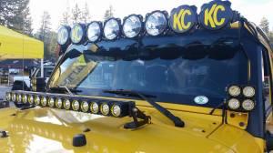 """KC HiLiTES - KC HiLiTES Jeep JK Hood Mount Bracket Set for 30"""" LED 07-18 - KC #7324 7324 - Image 3"""