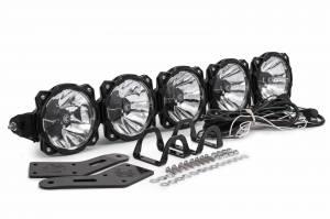 KC HiLiTES - KC HiLiTES Gravity LED Pro6 Polaris RZR 5-Light Combo LED Light Bar - #91309 91309 - Image 8
