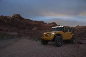 KC HiLiTES - KC HiLiTES Gravity LED Pro6 07-18 Jeep JK 8-Light Combo Beam LED Light Bar - #91313 91313 - Image 2