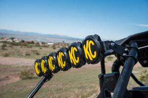 KC HiLiTES - KC HiLiTES Gravity LED Pro6 Arctic Cat Wildcat 6-Light LED Light Bar System - #91327 91327 - Image 7