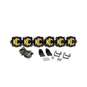 KC HiLiTES - KC HiLiTES Gravity LED Pro6 Arctic Cat Wildcat 6-Light LED Light Bar System - #91327 91327 - Image 9