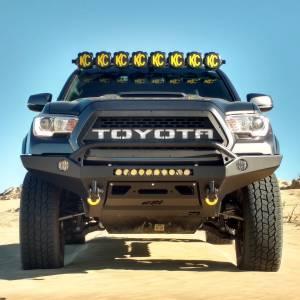 KC HiLiTES - KC HiLiTES Gravity LED Pro6 05-18 Toyota Tacoma 8-light Combo LED Light Bar – #91331 91331 - Image 2