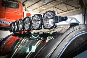 KC HiLiTES - KC HiLiTES Gravity LED Pro6 05-18 Toyota Tacoma 8-light Combo LED Light Bar – #91331 91331 - Image 5