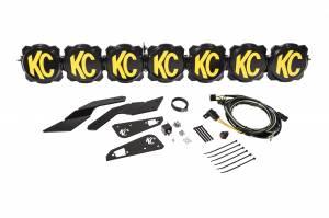 """KC HiLiTES - KC HiLiTES Gravity LED Pro6 17-19 Can-Am Maverick X3 7-Light 45"""" LED Light Bar - #91334 91334 - Image 2"""
