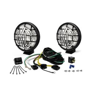 """KC HiLiTES - KC HiLiTES 6"""" Apollo Pro Halogen Pair Pack System - Black - KC #9150 (Spot Beam) 9150 - Image 2"""