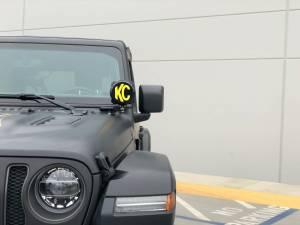 KC HiLiTES - KC HiLiTES KC 2018-2019 Jeep JL A-Pillar Gravity LED Pro6 Spot Beam Light Kit - #97111 97111 - Image 3
