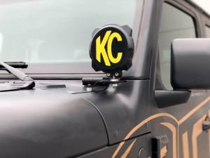 KC HiLiTES - KC HiLiTES KC 2018-2019 Jeep JL A-Pillar Gravity LED Pro6 Spot Beam Light Kit - #97111 97111 - Image 4