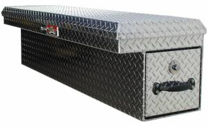 Brute - Brute 34 inch LowSider w/Rear Roller Drawer - Drivers Side - Black Texture Coat  RB7634D-BT - Image 1